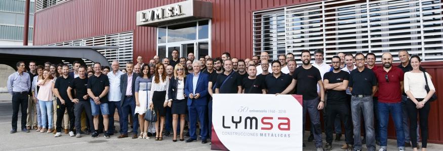 Foto familia Lymsa 2017 aniversario