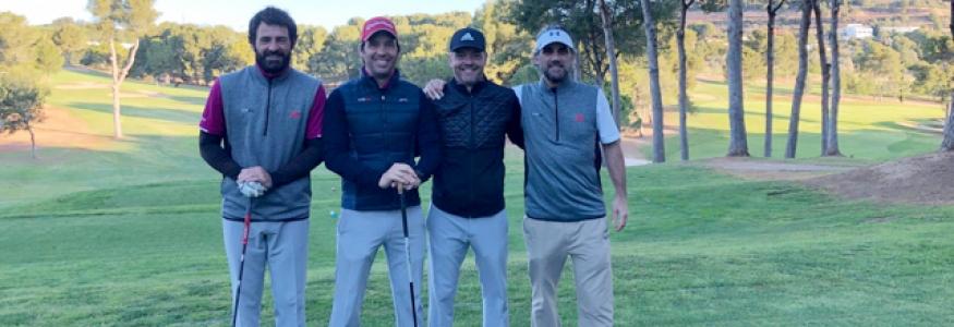 Equipo Lymsa Golf ganadores en la primera prueba