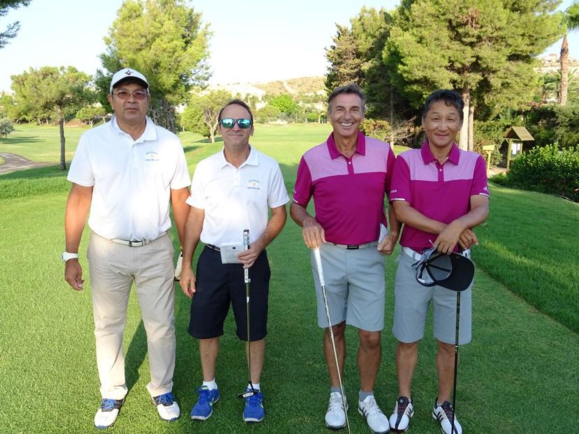 Equipo golf Lymsa Alejandro Palomares y Cho Hyun Suk