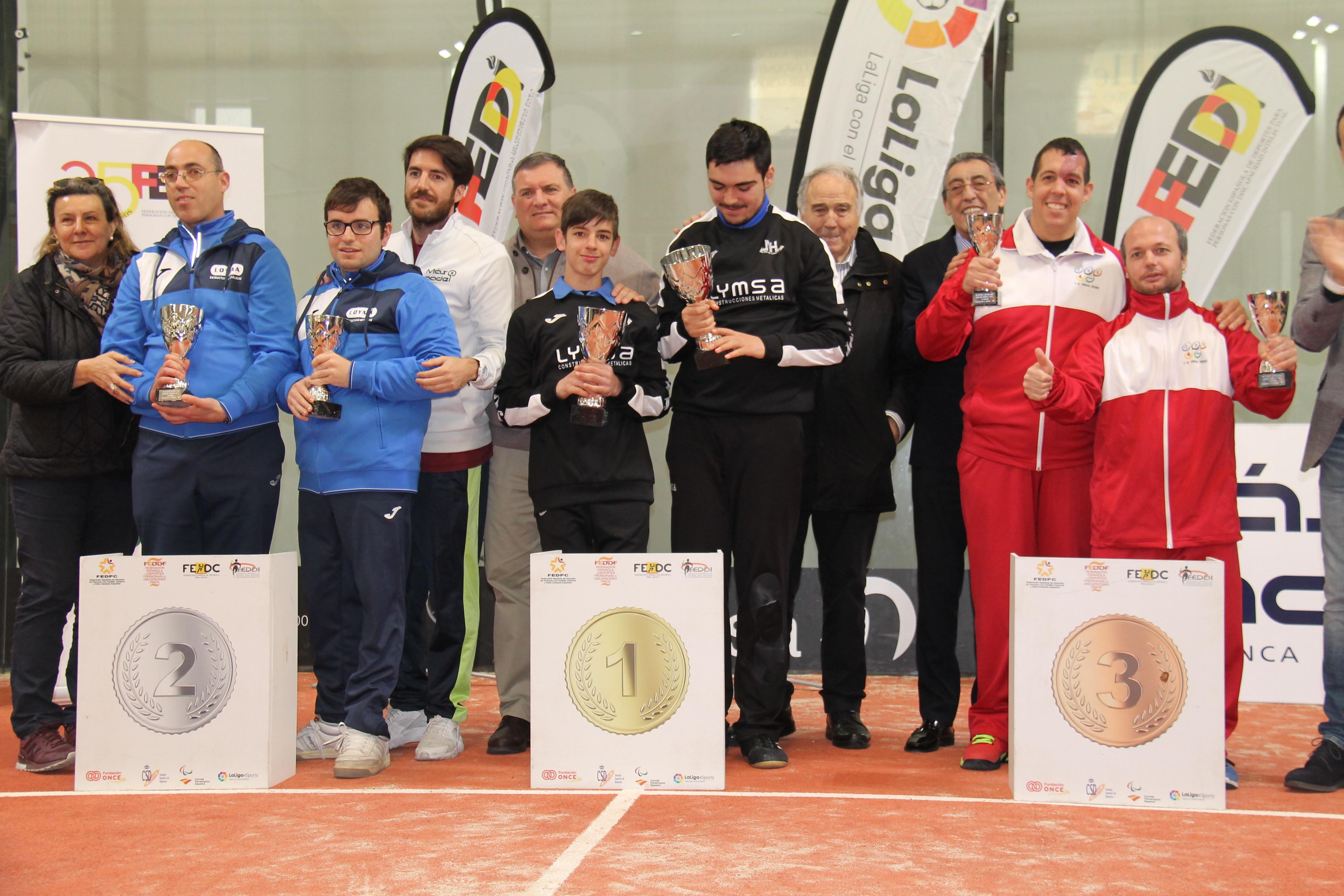 Andrés y Miguel Ángel, ganadores del oro