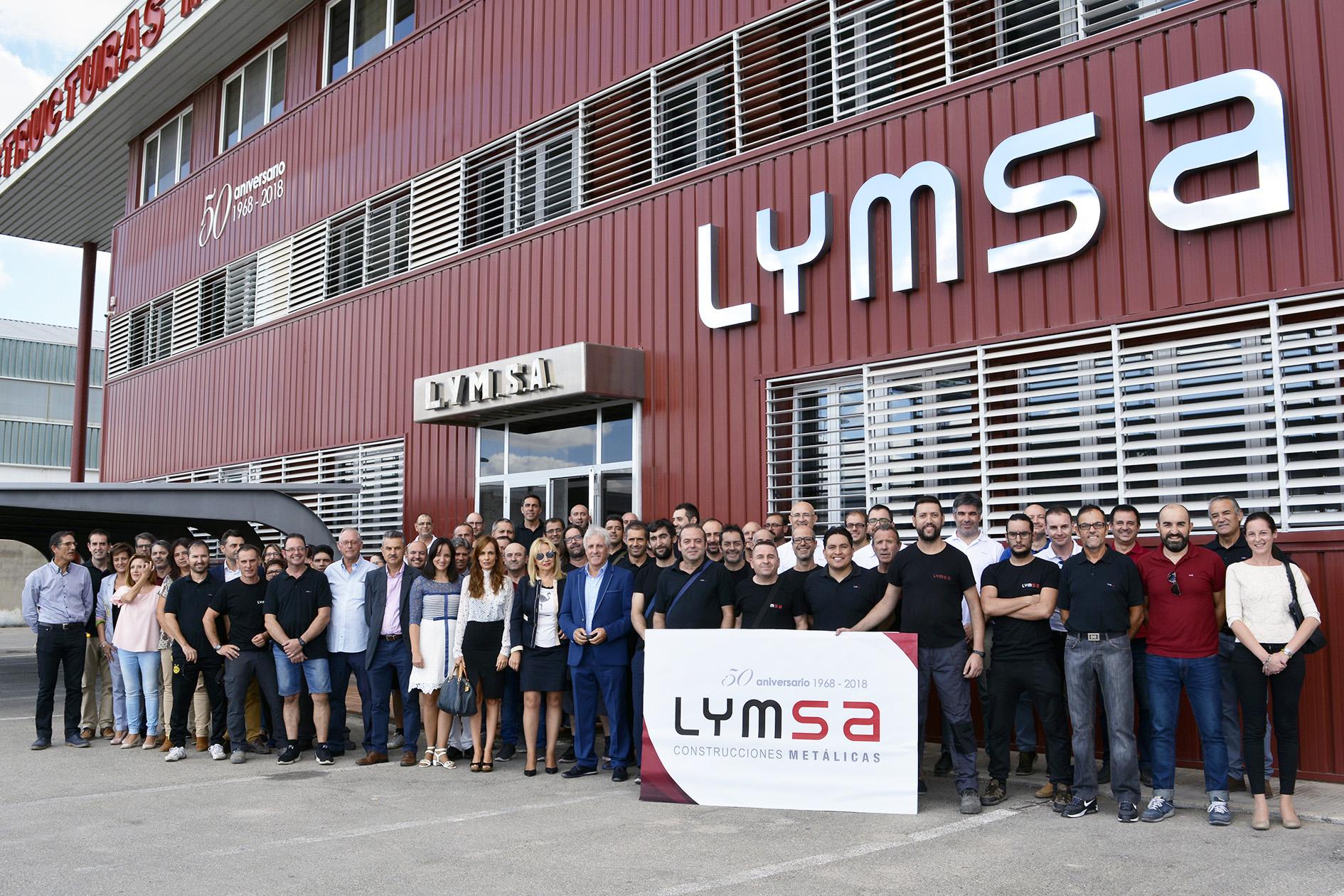 Lymsa foto familia 2017 aniversario