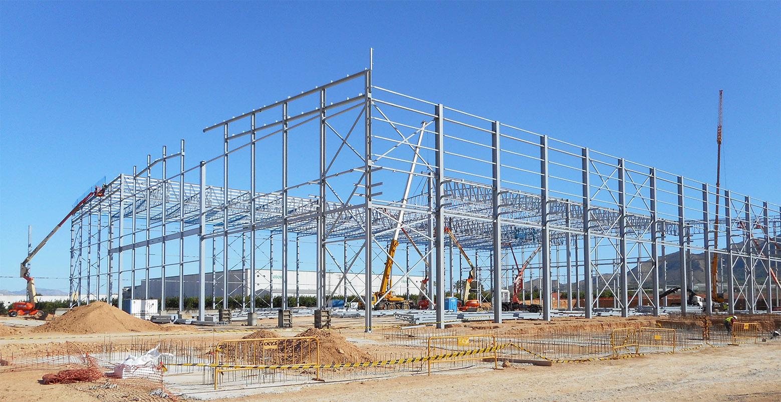 Construcciones metálicas Lymsa Yecla Murcia