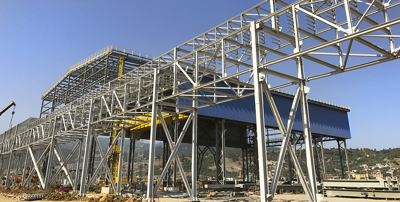 Bellara Steel Algerie construction lymsa