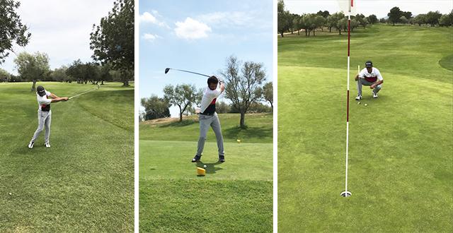 Equipo golf Lymsa Panorámica Golf