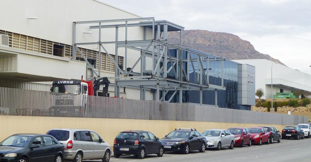 Laboratorio puericultura Alicante ampliación Lymsa