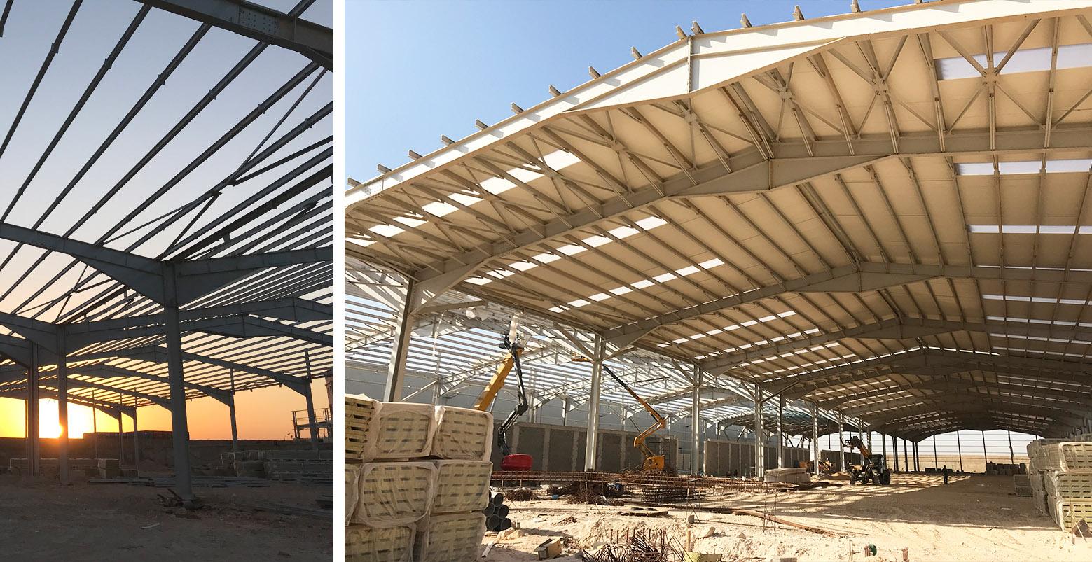 Tapidor Oran Argelia Lymsa construction
