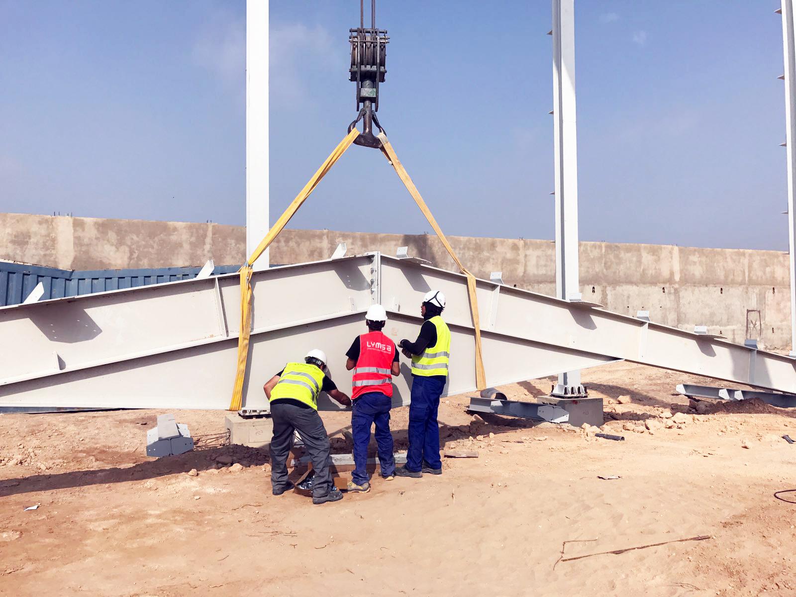 Tapidor Algerie Argelia construcción